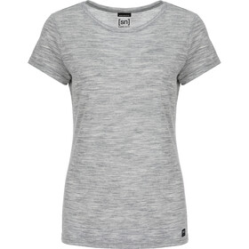 super.natural Everyday - T-shirt manches courtes Femme - gris
